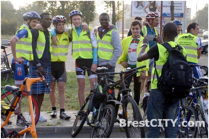 Велопробег в Бресте 21 сентября 2014