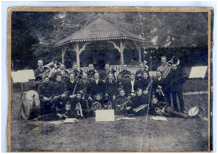 Духовой оркестр в Городском саду Бреста (до 1915 года)
