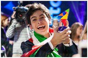 Победитель из Италии на детском Евровидении 2014 Винченцо Кантиелло