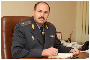 Федор Балейко - начальник УВД Брестского облисполкома