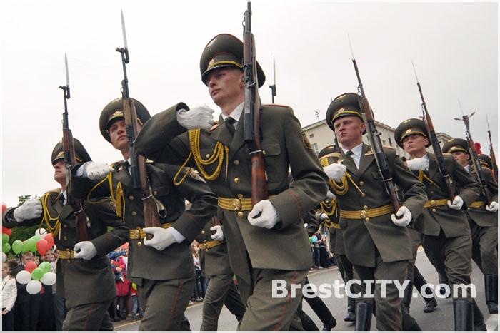 День Государственного флага и герба Республики Беларусь в Бресте