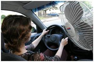 Советы водителям летом в жару