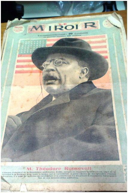 Старые французские газеты изъяли на границе в Бресте