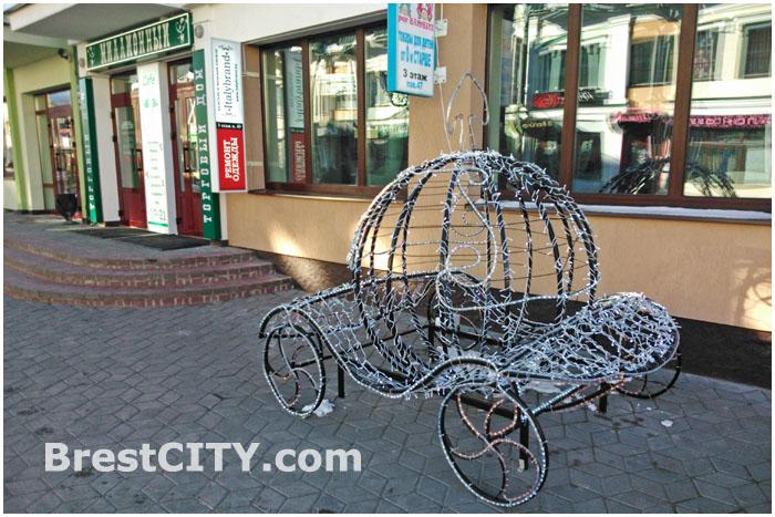 Карета на ул. Советской осталась без лошади