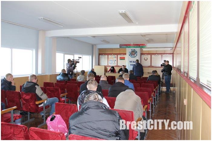 Судебное заседание. Конфискация автомобиля в Беларуси