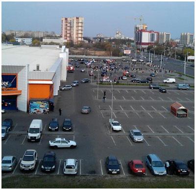 В Бресте заминировали гипермаркет Корону