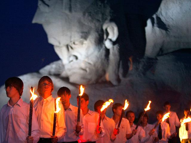 Митинг-реквием в Брестской крепости 22 июня