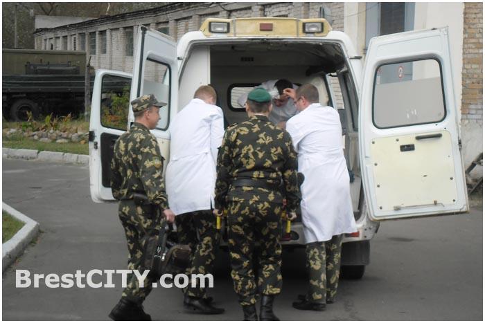 Учения МЧС и пограничников в Бресте
