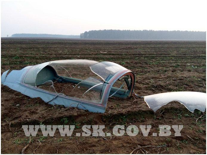 В Беларуси разбился Миг-29