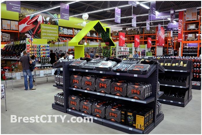 Строительный гипермаркет MILE в Бресте