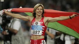 Юля Нестеренко. Золотая медаль в Афинах