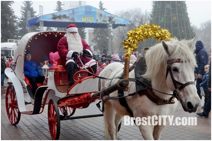 Новый 2015й год в Бресте. Площадь Ленина