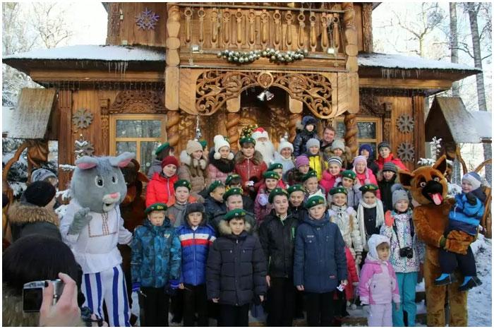 Новый год в Беловежской пуще пропустили через границу