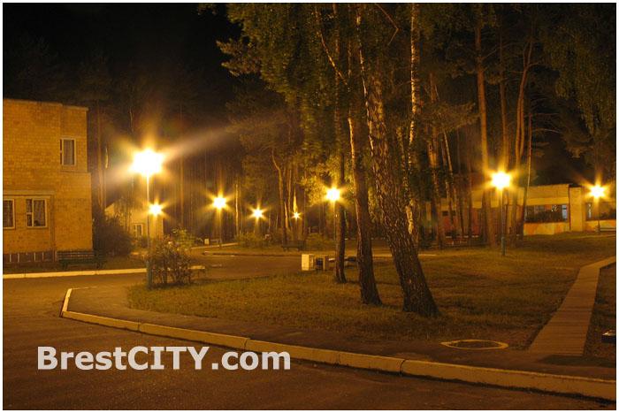 Лагерь Орленок ночью