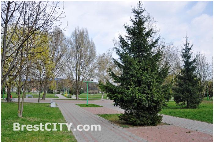 Парк Мира в Бресте. 8 апреля 2014 - 20 лет
