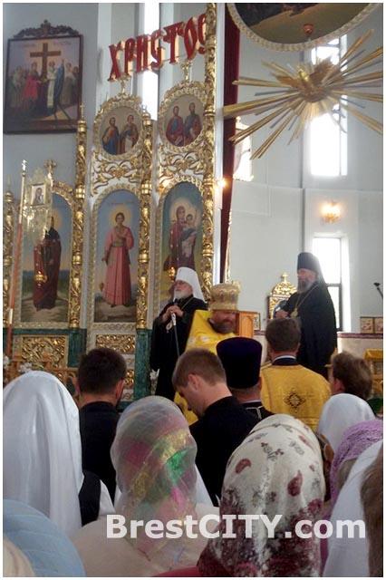 Митрополит Павел в Бресте