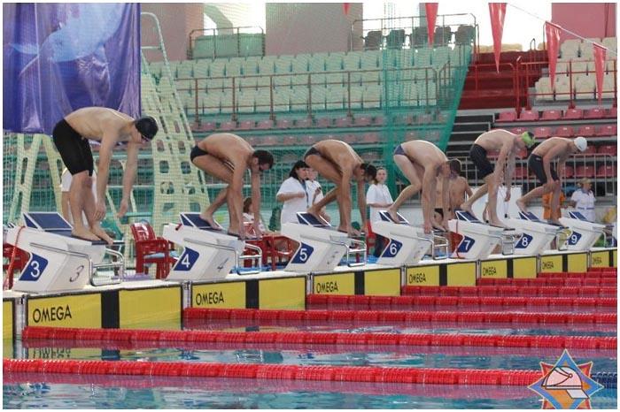 Соревнования МЧС по плаванию в Бресте 4-5 ноября 2014