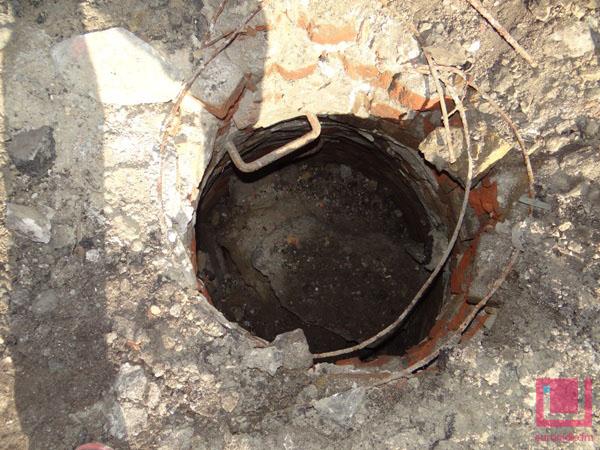 В Бресте обнаружен подземный ход