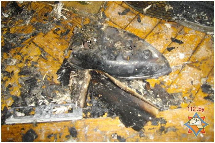 Пожар в Бресте на Бульваре Космонавтов. Спасли пожилую женщину