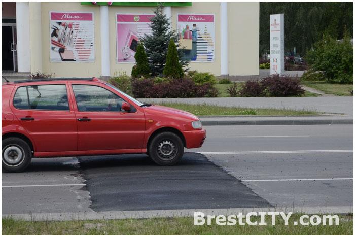 22 участка дорог с «лежачими полицейскими» в Бресте не соответствуют норме
