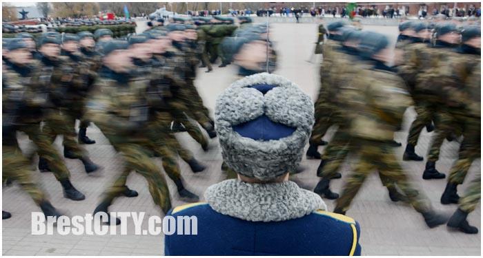 Присяга в Брестской крепости 13 декабря 2014