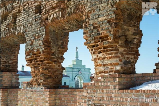 Замок Сапегов в Ружанах