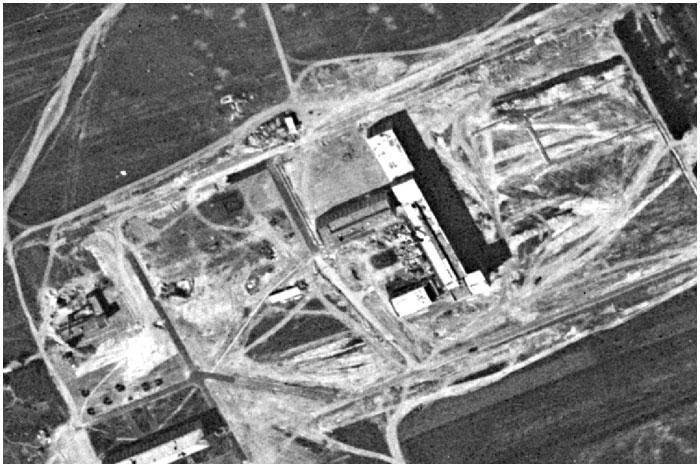 Брест с американского спутника-шпиона