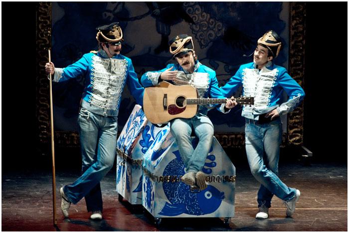 Мюзикл-водевиль Сватовство Гусара