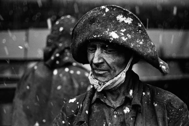 «Cнег на коксовой батарее», Коксохим КМК, 27 ноября 1979 года.
