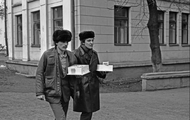 «Поход джентльменов в гости», Новокузнецк, 1980 год