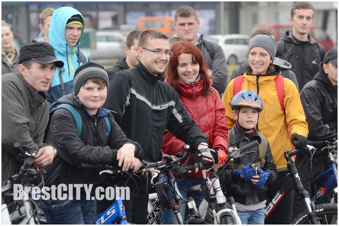 Закрытие велосезона в Бресте 9 ноября 2014