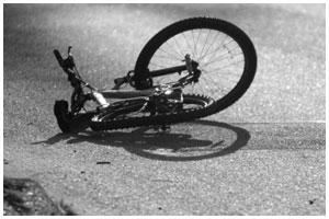 Сбили велосипедиста