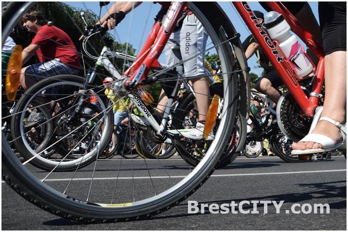 Международный велофестиваль в Бресте 26 июля 2014