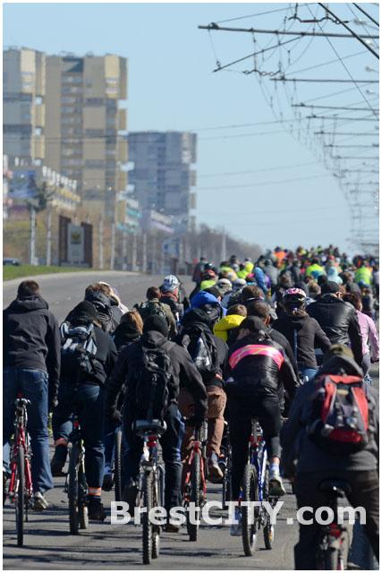 Велосезон в Бресте открыт 5 апреля 2014