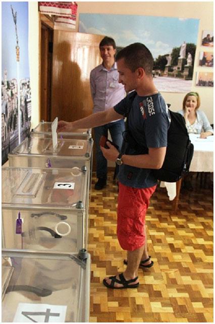 Выборы президента Украины в Бресте