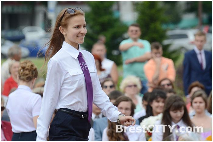 Награждение выпускников Московского района в Бресте 12 июня 2014