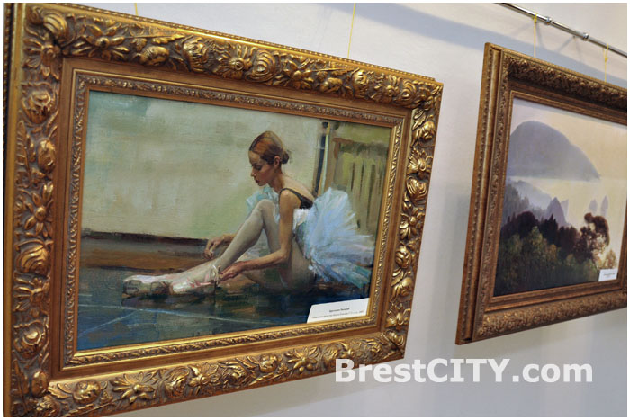 Выставка современных художников-передвижников