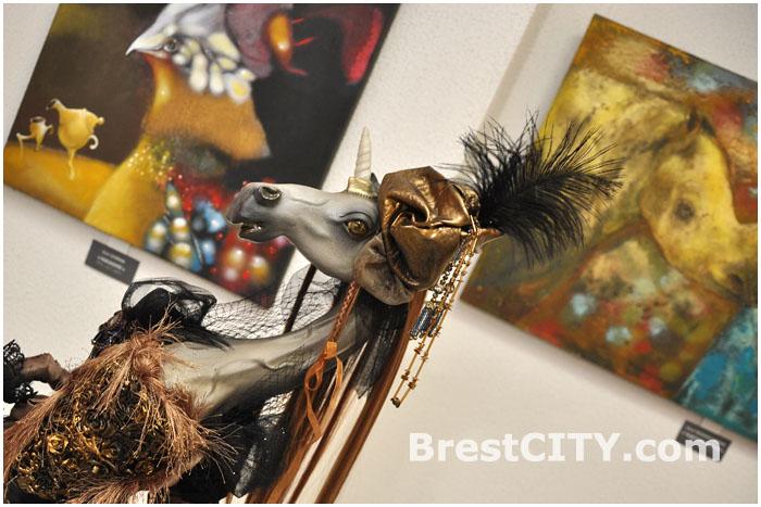 Выставка молодых художников Брестчины