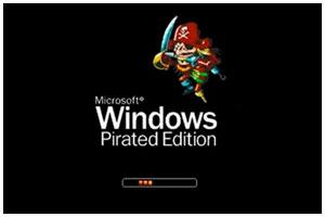 Пиратские копии Windows