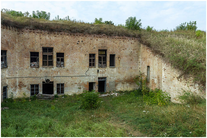 Западный форт Брестской крепости