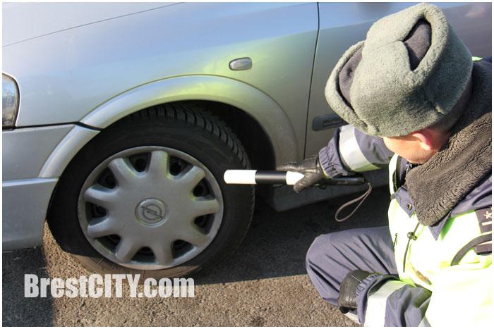 Зимние шины. Проверка ГАИ