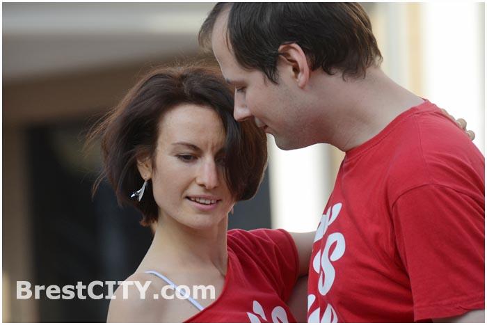 Танцевальный ZOUK флешмоб в Бресте. 21.09.2014.