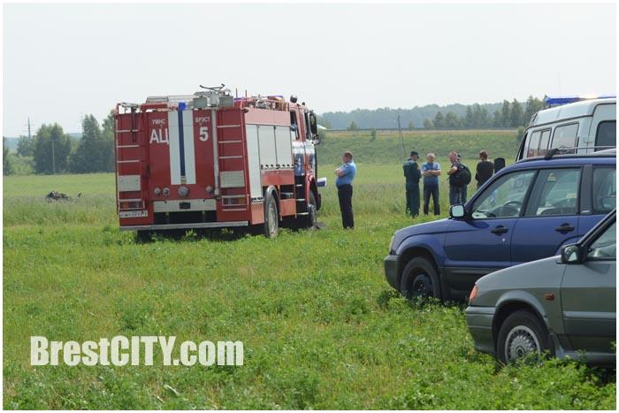 Возле Бреста разбился самолет МЧС. 2 человека погибло