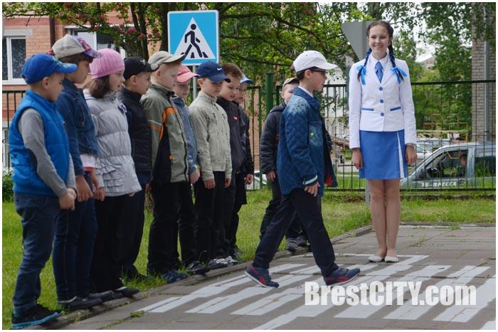 Автогородки для детей в начальной школе №2 Бреста