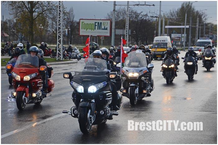 Байкеры в Бресте открыли мотосезон 2015