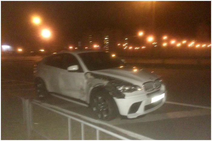 Авария в Бресте ночью на Варшавке 22-23  сентября 2015