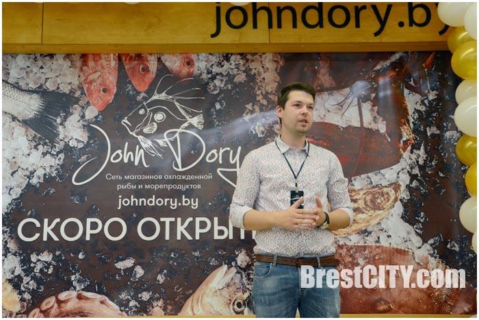 Магазин морепродуктов и рыбы Джон Дори в Бресте. Фото BrestCITY.com