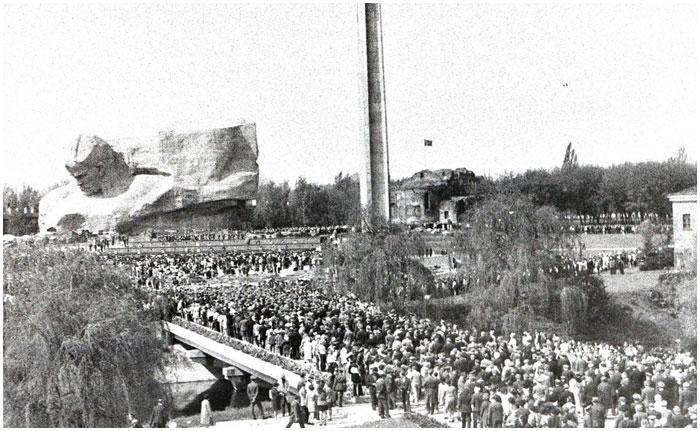 День Победы в Брестской крепости 1975 года. 40 лет назад