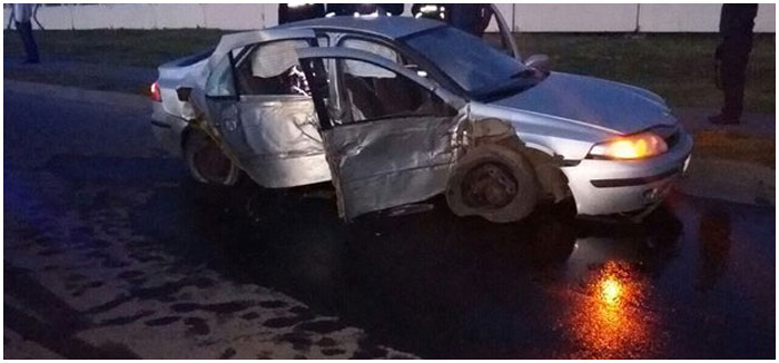 Авария в городе Барановичи. Погиб пассажир