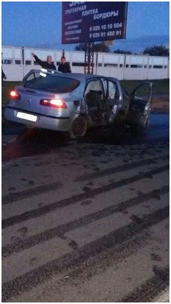 ДТП со смертельных исходом в городе Барановичи